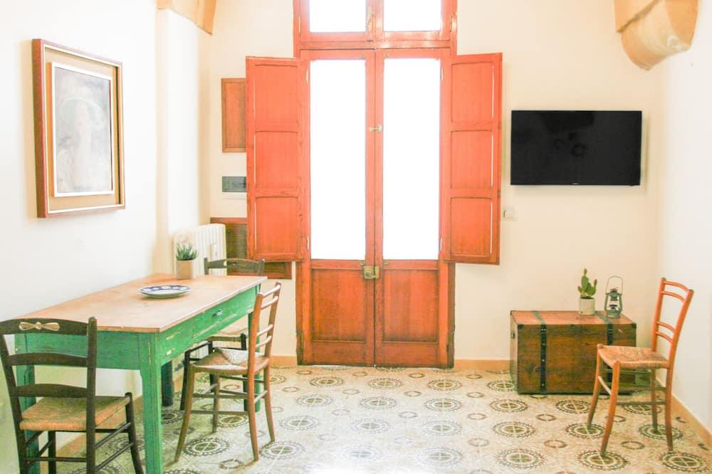 Deluxe Διαμέρισμα, 2 Υπνοδωμάτια, Ιδιωτικό Μπάνιο, Θέα στην Πόλη - Καθιστικό