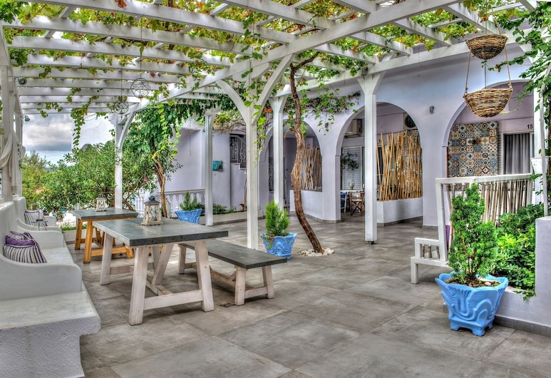 Villa Maria, Sithonia, Suite Standard, Quintal