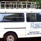 Λεωφορειάκι μεταφοράς για αεροδρόμιο