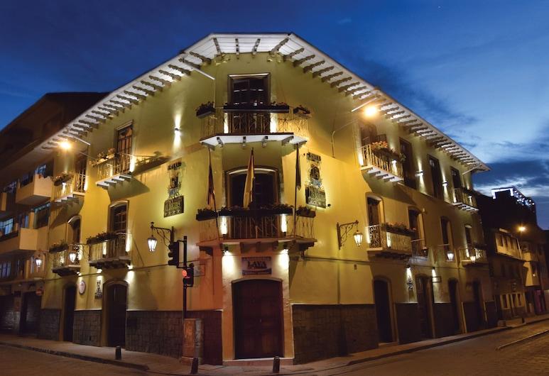 Hotel Boutique Los Balcones, Cuenca, Facciata hotel (sera/notte)