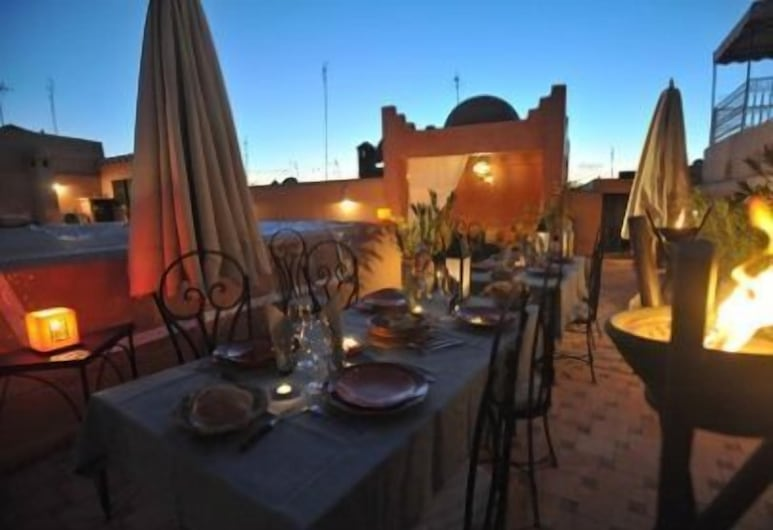 Riad Asna, Marrakech, Outdoor Dining