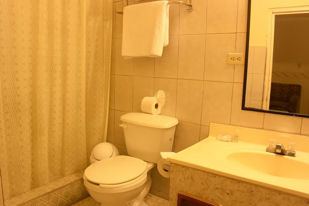 Jednolůžkový pokoj, dvojlůžko (180 cm) - Koupelna