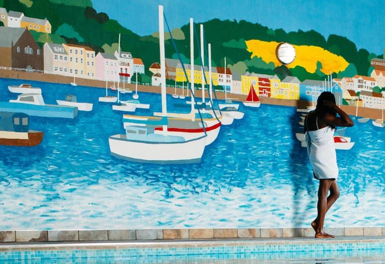 Hotel De Normandie, St. Helier, Krytý bazén