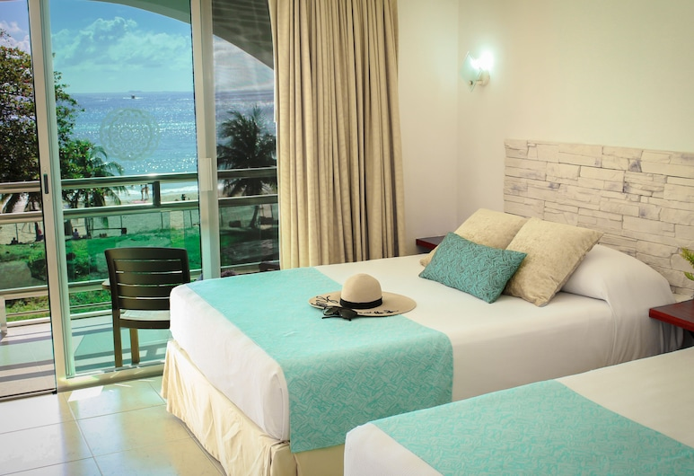 Casa Melissa, Playa del Carmen, Standard Room, 1 Bedroom, Ocean View, Oceanfront, Guest Room