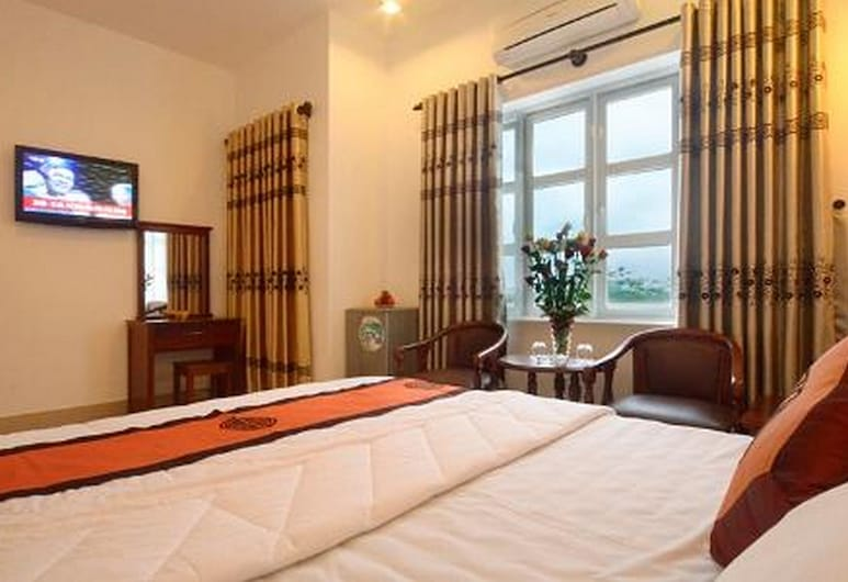 Hanh Dat Hotel, Χουέ, Deluxe Δίκλινο Δωμάτιο (Double), Δωμάτιο επισκεπτών