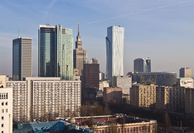 Platinum Towers Country 2 Country, Warsawa, Penthouse, 1 kamar tidur, Kamar