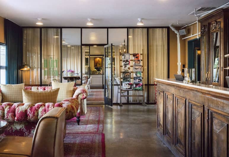 Palihotel Melrose, Los Angeles, Salottino della hall