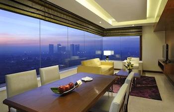 A(z) DoubleTree by Hilton Gurgaon hotel fényképe itt: Gurgáon