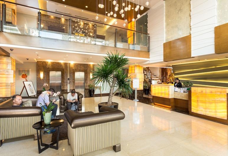 아마다 호텔, 마닐라, 로비