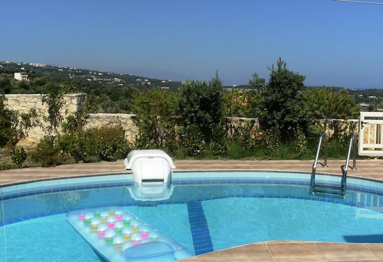 Helidonia Villas Stefanos, Ρέθυμνο, Εξωτερική πισίνα