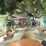 Área para refeição ao ar livre