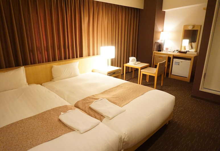 ホテルサンライン福岡博多駅前, 福岡市, デラックス ツインルーム 禁煙, 部屋