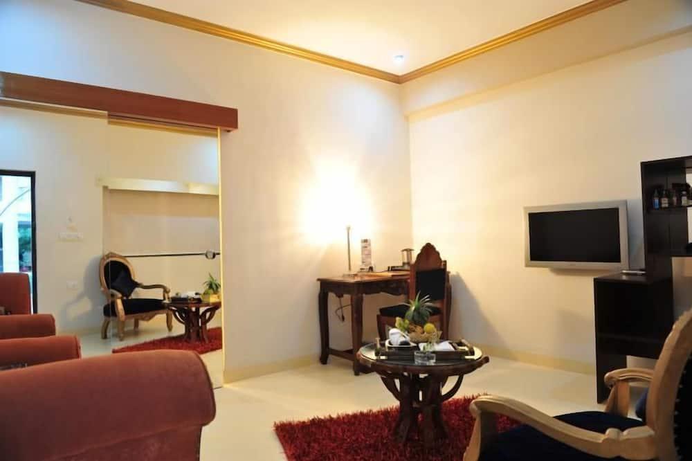 奢華套房 - 客廳
