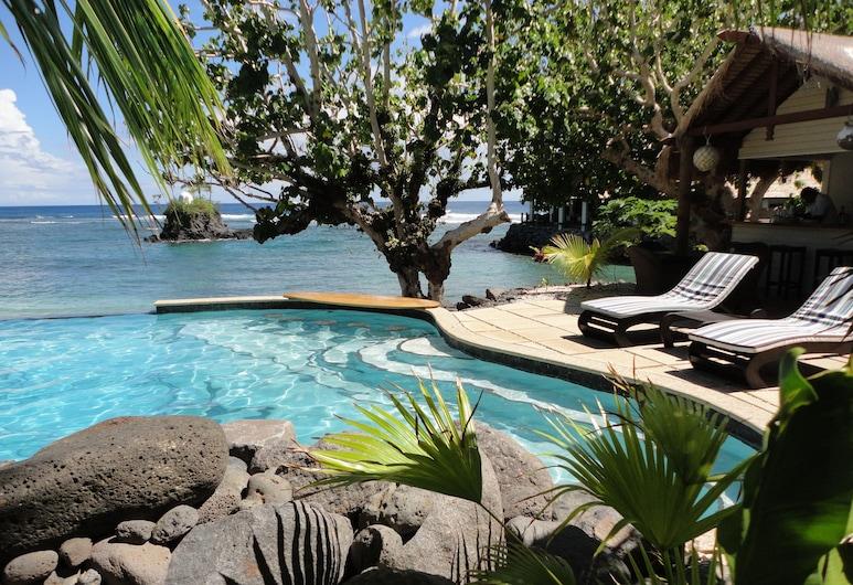 Seabreeze Resort Samoa - Exclusively for adults, Aufaga, Εξωτερική πισίνα