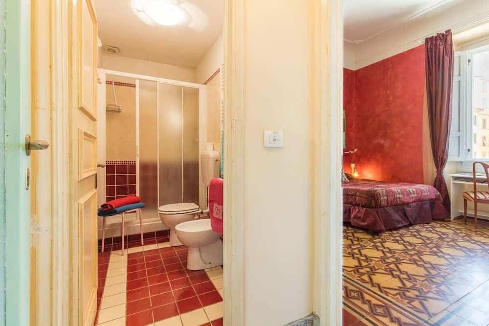 Classic-Doppelzimmer, eigenes Bad - Zimmer