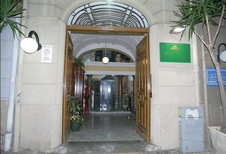 Hotel Florio, Palermo, Hotel Entrance