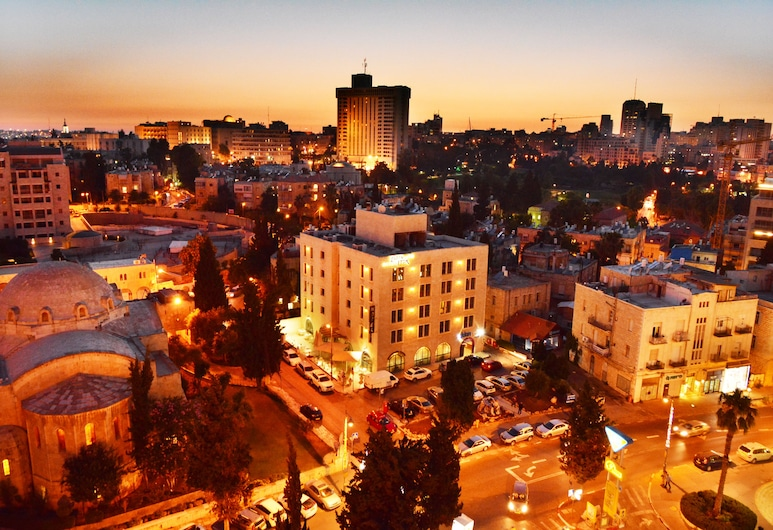 The Eldan Hotel, Yerusalem, Bagian Depan Hotel - Sore/Malam