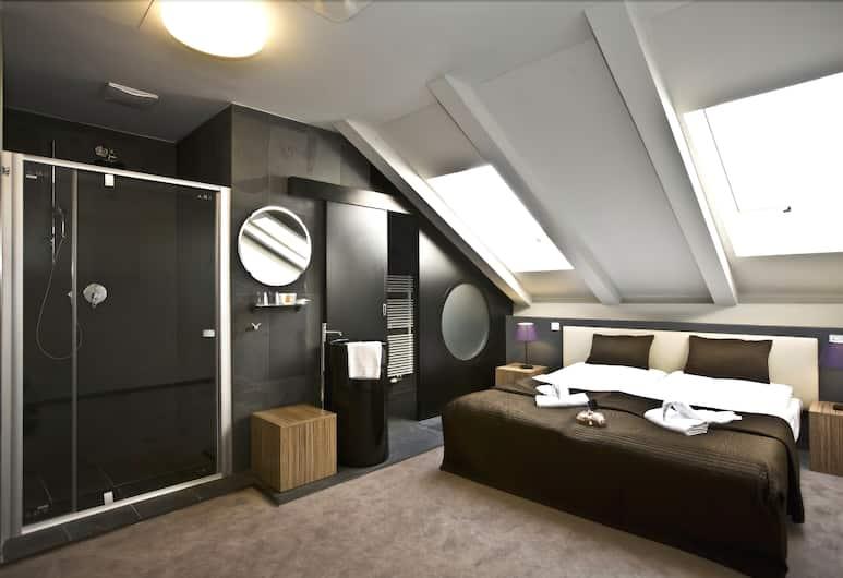 Hotel Noir, Prag, Standardværelse med dobbeltseng eller 2 enkeltsenge, Værelse
