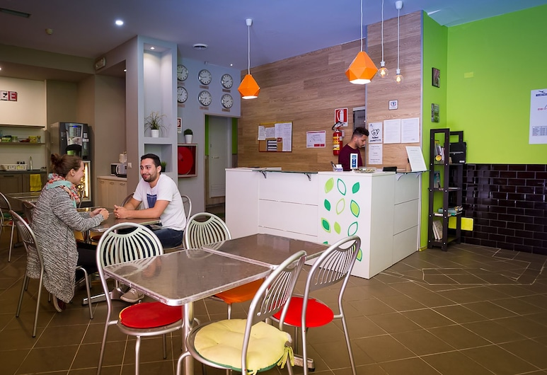 Youth Station Hostel, Rome, Lobby