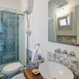高級雙人房, 1 張加大雙人床, 露台, 城市景 - 浴室