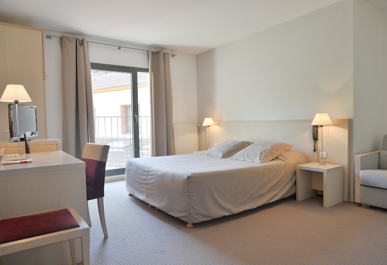 Hôtel Rolland, Montagnieu, Premium Double Room Single Use, Guest Room