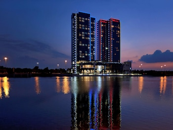 阿布達比宜必思阿布扎比門酒店的圖片
