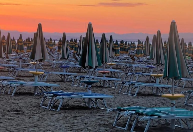 Hotel Stiefel, Lignano Sabbiadoro, Beach