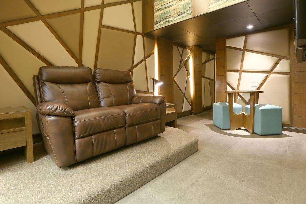 Suite, 1 cama Queen size - Sala de estar