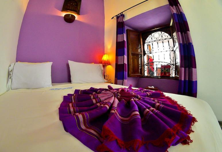 Riad Dar Saba, Marrakech, Pokój dwuosobowy z 1 lub 2 łóżkami typu Comfort, widok na dziedziniec, przy dziedzińcu, Pokój