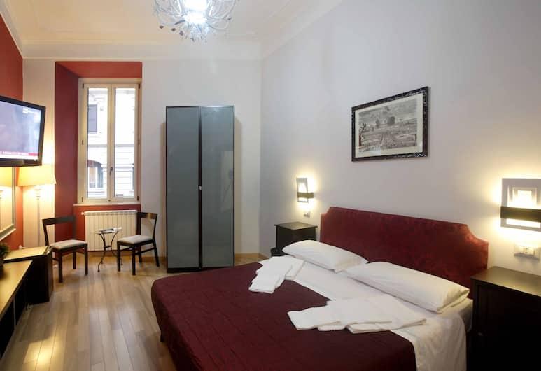 德洛迦諾住宿旅舍, 羅馬, 四人房, 客房