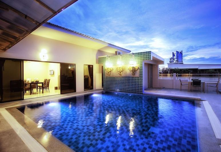 Gu Hotel, Patong, Three-Bedroom Villa, Uitzicht vanaf kamer