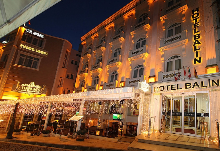 Balin Hotel - Boutique Class, Istanbul, Hotel Front – Evening/Night