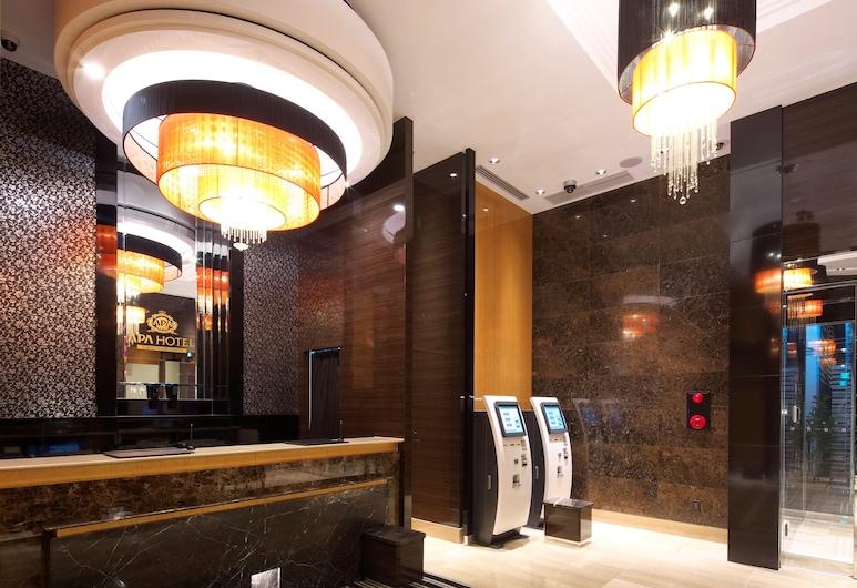 APA Hotel Tokyo-Kudanshita, Tokio, Recepcja