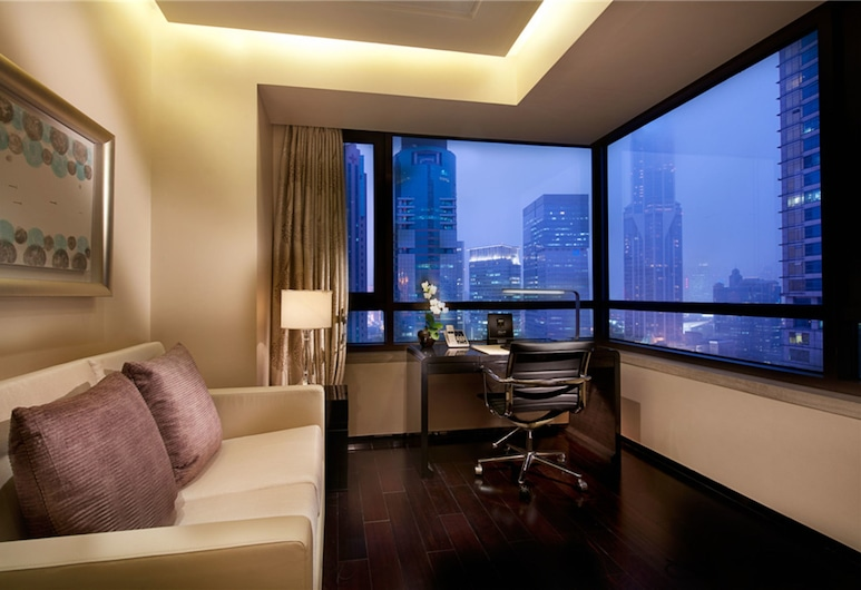 ケンピンスキー ザ ワン スイーツ ホテル シャンハイ ダウンタウン (禦錦軒凱賓斯基全套房酒店), 上海, ビジネス スイート (One Plus One), 部屋からの景色