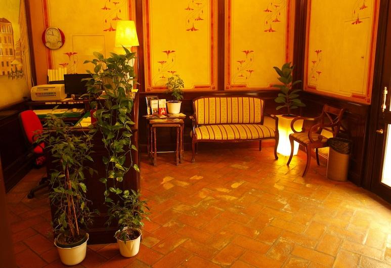 Hotel Trastevere, Rome, Lobby