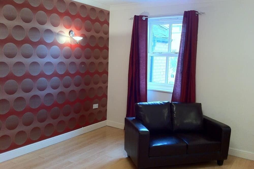 Apartmán, súkromná kúpeľňa (Full Serviced 2 Bed) - Obývačka