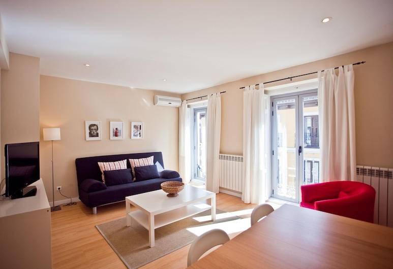 Madrid Central Suites, Мадрид, Семейные апартаменты, 1 спальня, балкон, Номер
