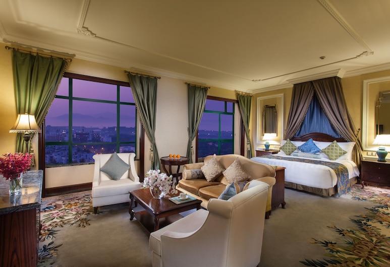 The Venice Hotel Shenzhen, Shenzhen, Premier Room, Bilik Tamu