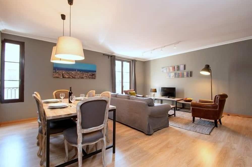 Апартаменти, 3 спальні (6 people) - Житлова площа
