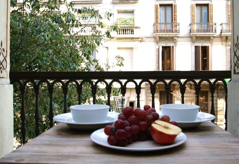 Short Stay Group Paseo de Gracia Serviced Apartments, ברצלונה, דירה, 3 חדרי שינה, טרסה, מרפסת