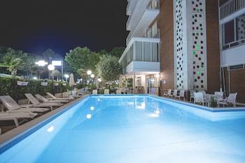 Selline näeb välja Hotel Ridolfi, Cervia