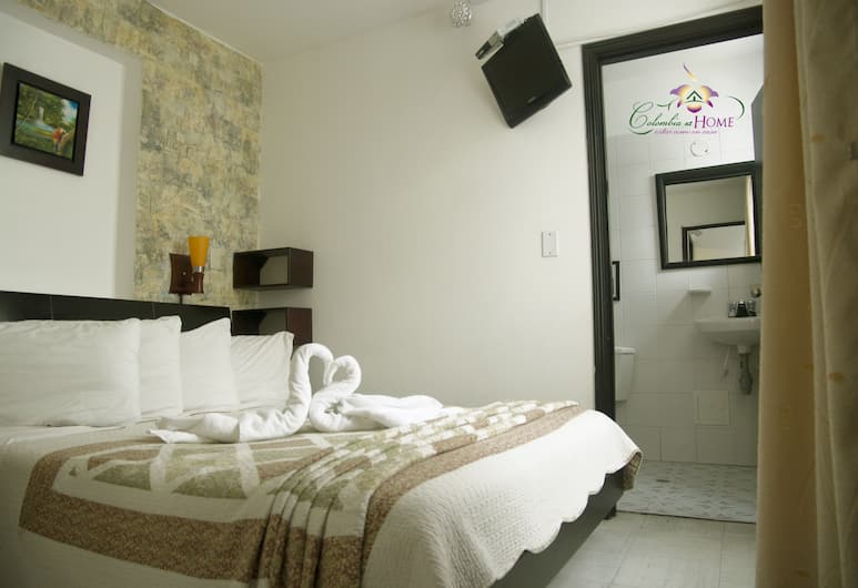 Colombia at Home, Bogotá, Economy Room (1 Double Bed - Inner Bath), Vierashuone