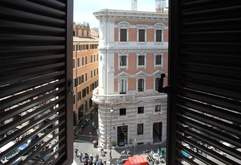 Suite Art Navona, Rom, Deluxe dubbelrum - 1 queensize-säng, Utsikt mot staden