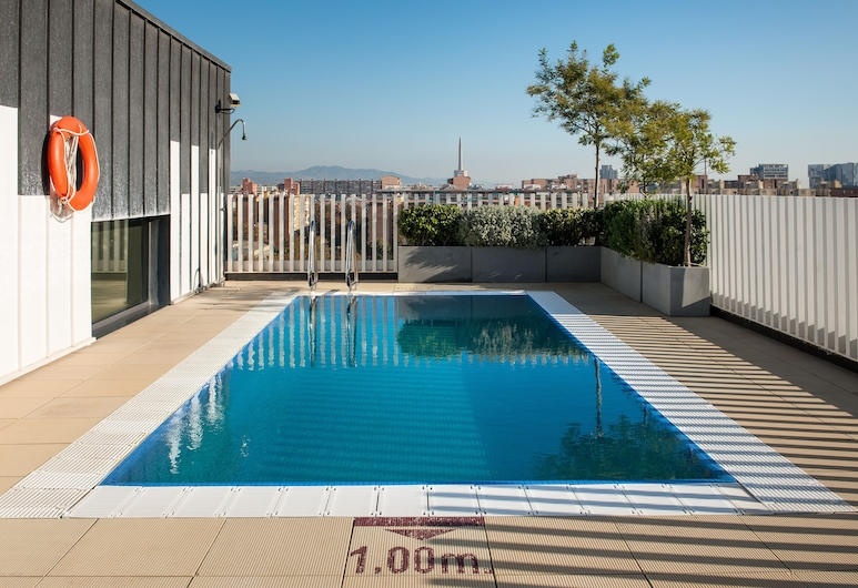 Vincci Bit, Barcelona, Vonkajší bazén