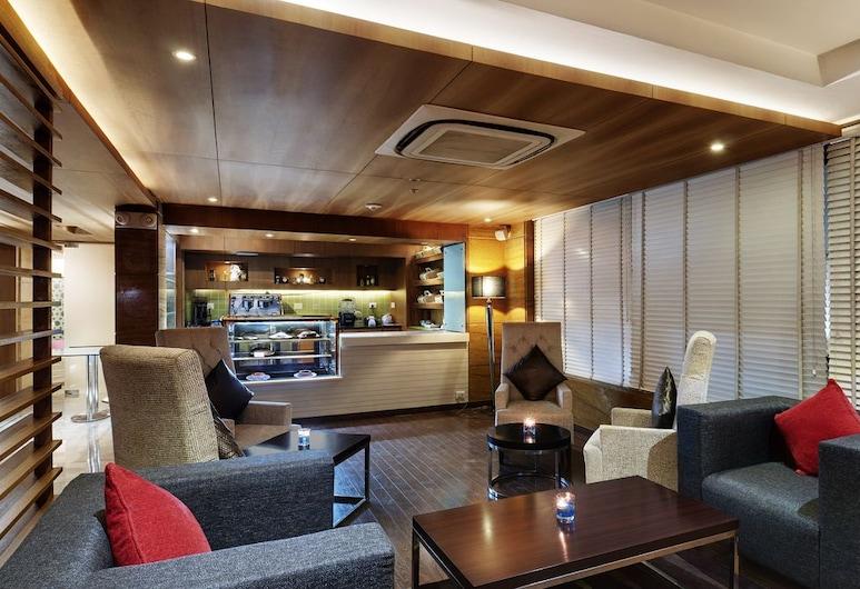 Leisure Inn West Gurgaon, Gurugram, Siddeområde i lobby