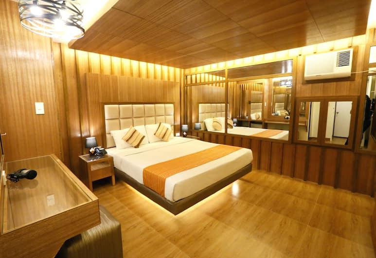 호텔 2016 마닐라, 마닐라, 디럭스룸, 퀸사이즈침대 1개, 객실