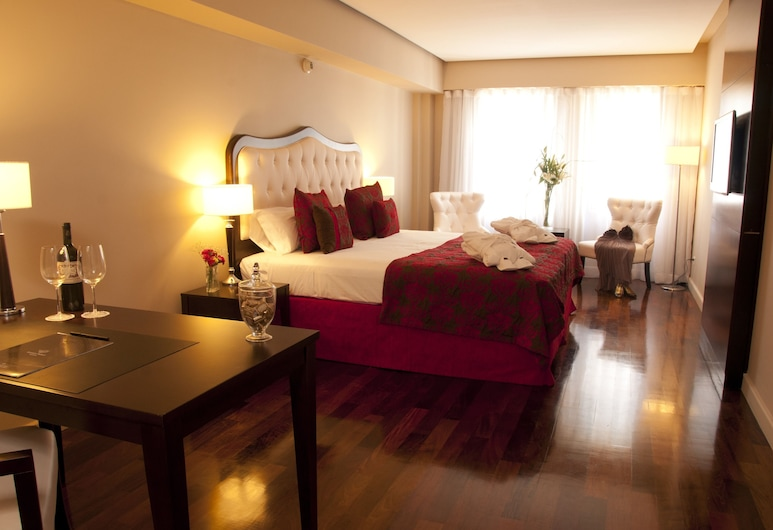 Kenton Palace Buenos Aires, บัวโนสไอเรส, ห้องสวีท, ห้องพัก