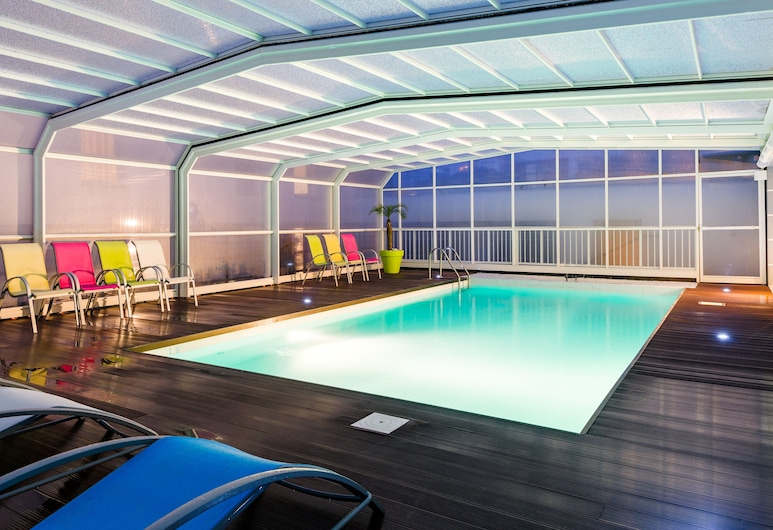 Lagrange Apart'HOTEL L'Escale Marine, La Rochelle, Unutarnji bazen