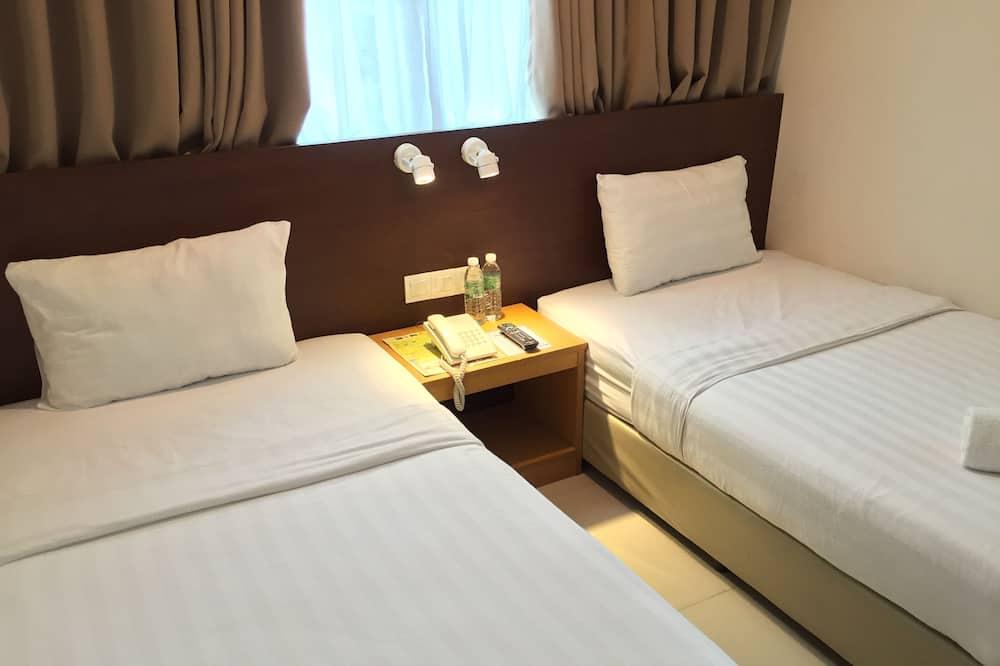 Paaugstināta komforta divvietīgs numurs, 2 vienguļamās gultas - Viesu numurs