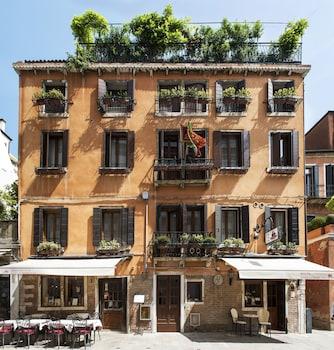 Wenecja — zdjęcie hotelu Agli Alboretti